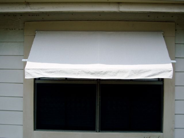diy pvc window awning for the home pinterest