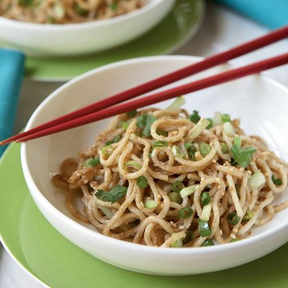 Chinese Peanut-Sesame Noodles | Asian Dishes | Pinterest