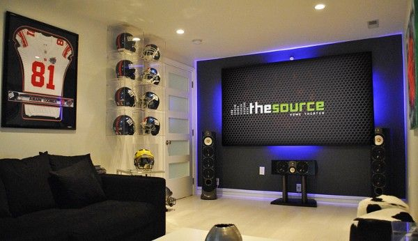 Ny Giants Man Cave Ideas : Pin by brian menecola on basement theater bar ideas