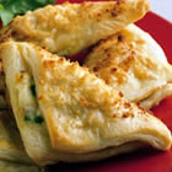 Cheese Crescent Triangles | Beginnings | Pinterest