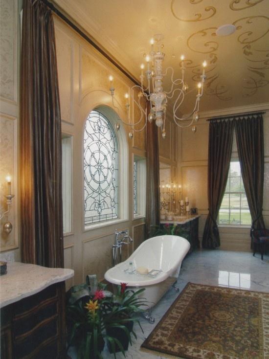 Elegant Master Bathroom Room By Room Pinterest