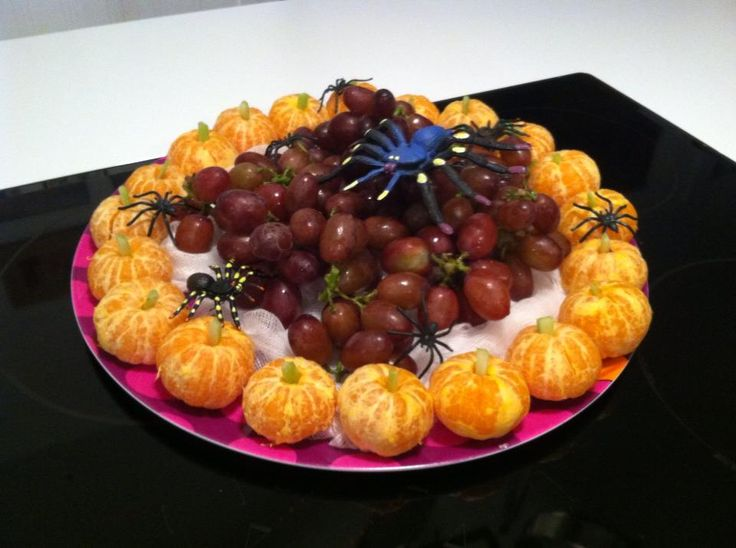 Healthy halloween snacks for class party