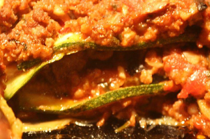 No pasta lasagna | food | Pinterest