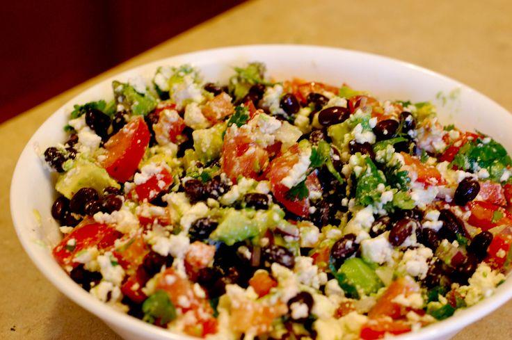 Avocado Feta Salad Recipe | Salads | Pinterest