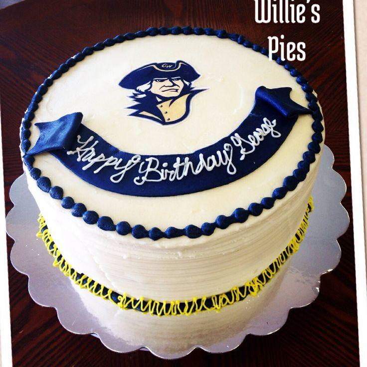 George Washington Birthday Cake   George Washington University ...