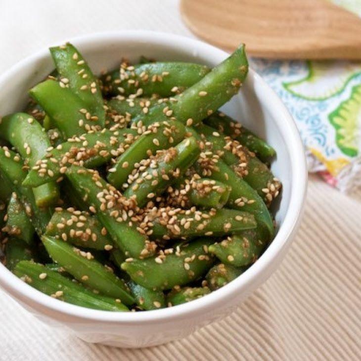 Sesame Sugar Snaps Recipe | Favorite Recipes | Pinterest