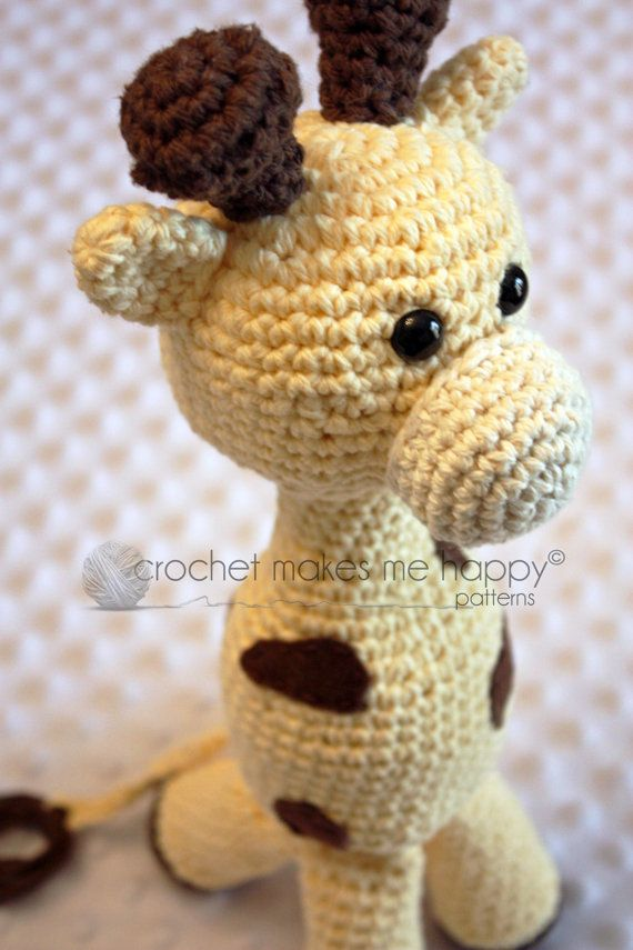 Crochet Pattern : The Giraffe