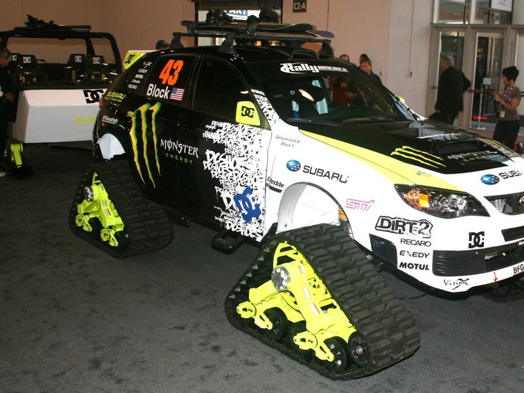 Just because it doesn't have wheels doesn't mean it can't be at SEMA