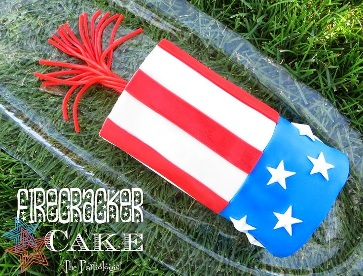 The Partiologist: Firecracker Cake! | Cakes | Pinterest
