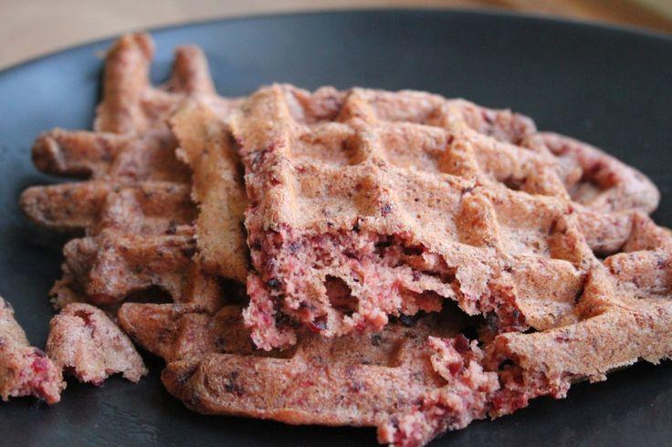 Whole Wheat Beet Waffles | Recipes | Pinterest