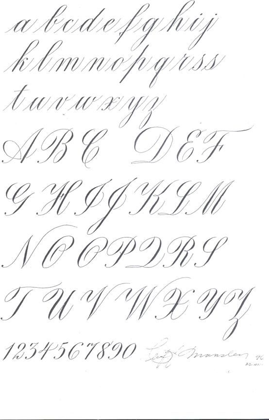 Pin copperplate calligraphy alphabet i gif on pinterest