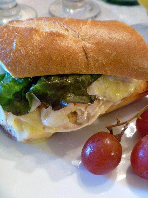 Turkey Havarti Hot Sandwich | Food Heaven | Pinterest