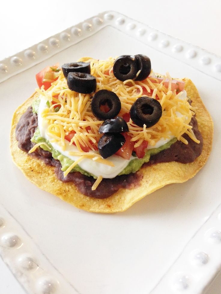 layer tostadas | Food that looks delish! | Pinterest