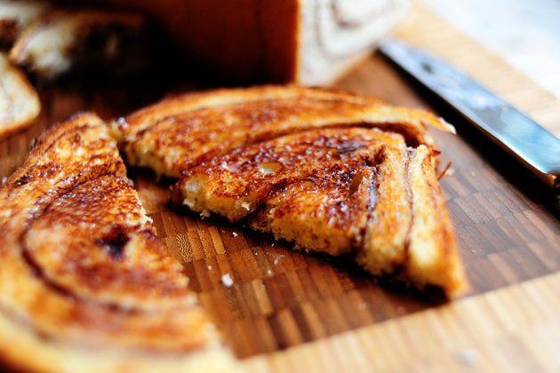 Homemade Cinnamon Bread Recipe — Dishmaps