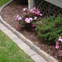 flower bed edging - Google Search