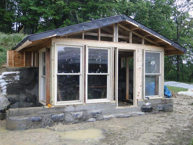 Build an off the grid house small house ideas pinterest for How to build a small house off the grid