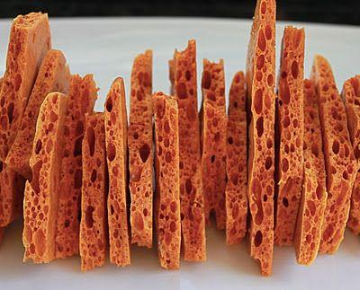 Honeycomb Brittle | Indulge | Pinterest