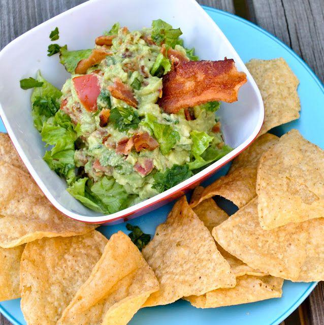BLT Guacamole | Chips & Dips | Pinterest