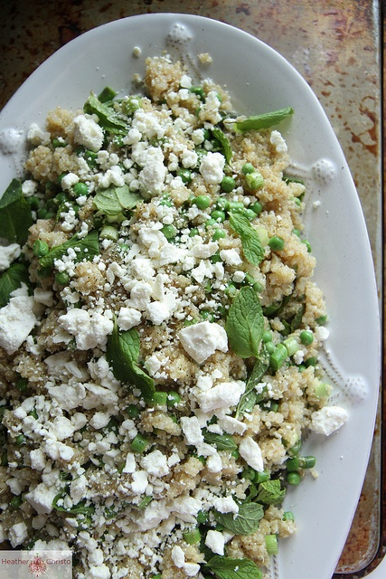 Spring Quinoa Salad with Feta by Heather Christo, via Flickr