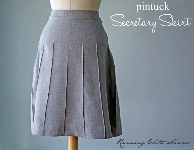 Secretary Skirt Tutorial