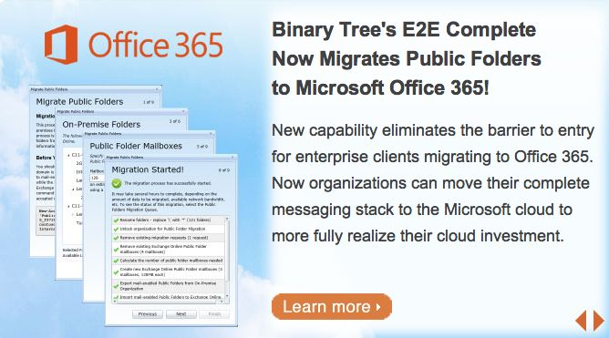 Binary tree office 365