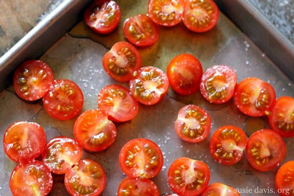 Paleo- Slow Roasted Tomatoes | F is for Fitness & Food | Pinterest