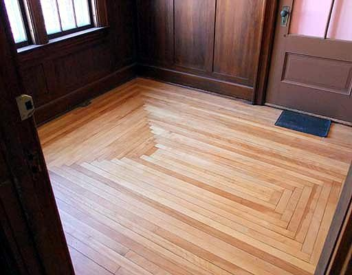 Square pattern wood floors for the home pinterest for Square wood flooring