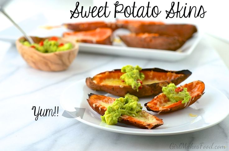sweet potato bacon salad kumara potato skins potato skins sweet potato ...