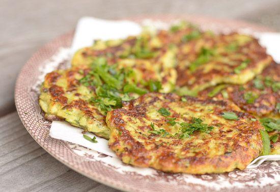 zucchini fritter ~ recipe | Food | Pinterest