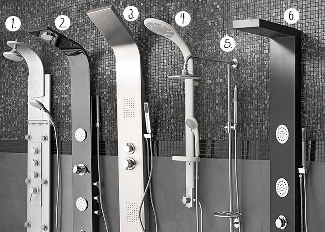 Baños Modernos Homecenter:Un hidromasaje? Las columnas de ducha son fáciles de instalar, ya