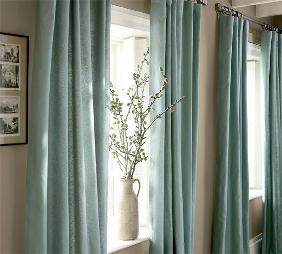 Curtain ideas master bedroom pinterest - Ideas para cortinas de salon ...