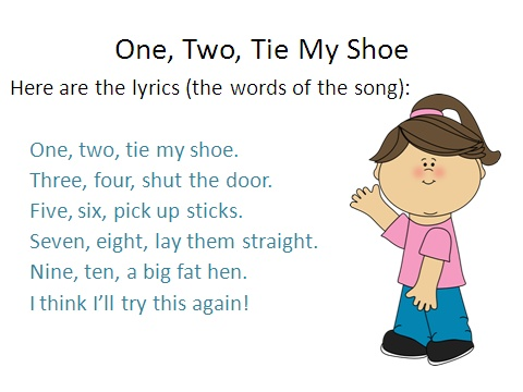 Kids Song Tie Shoes