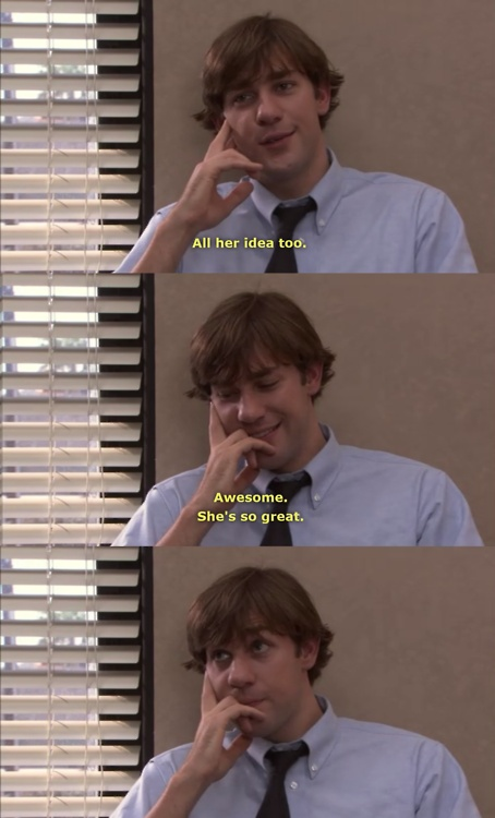 jim and pam the office quotes quotesgram