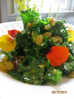 Kale and Hazelnut Salad with Sesame-Citrus Vinaigrette www ...