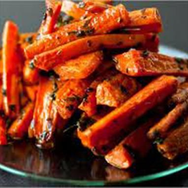 Tuscan Style Herb-Roasted Carrots Recipe ~ with oregano and rosemary