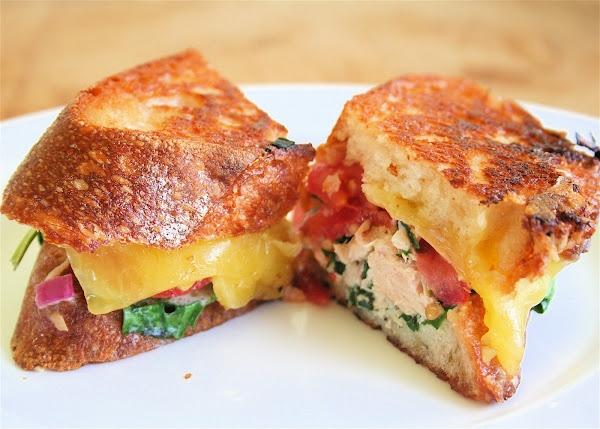 Tarragon Tuna Melt | Food - Sandwich | Pinterest