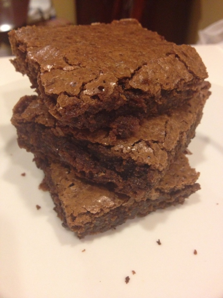 Chewy Brownies Recipe — Dishmaps