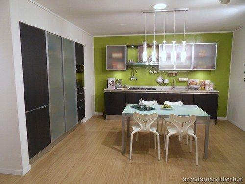Colore Parete Cucina. Simple Stile Industrial With Colore Parete ...