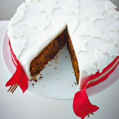 Christmas cake from Lorraine Pascale's 'A Lighter Way To Bake'