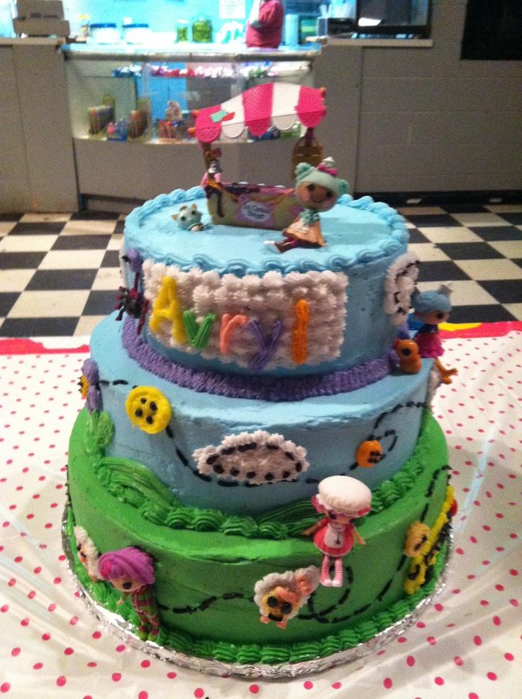 Lalaloopsy Cake Decorating Kit : Lalaloopsy Lets Bake Cake Topper Cake Decorating Kits ...