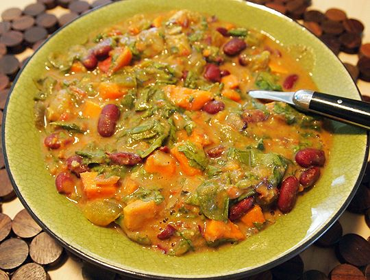 African-Inspired Peanut Stew, a Robin Robertson recipe via Veggie Girl ...