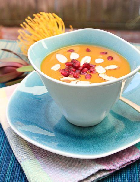 Chai-spiced sweet potato bisque   Soups   Pinterest