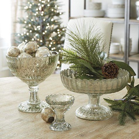 holiday decorating trends mercury glass apartment therapy