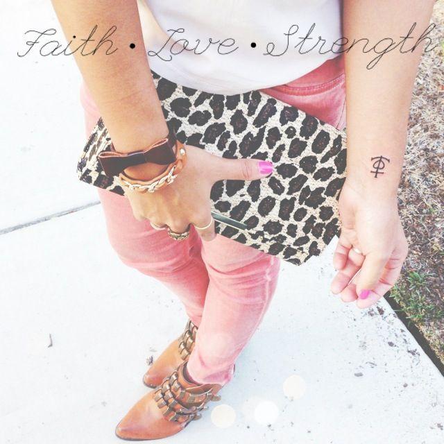 Love Faith Tattoos