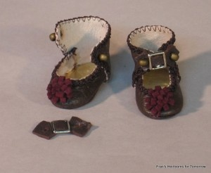 Bleuette shoe pattern and instructions