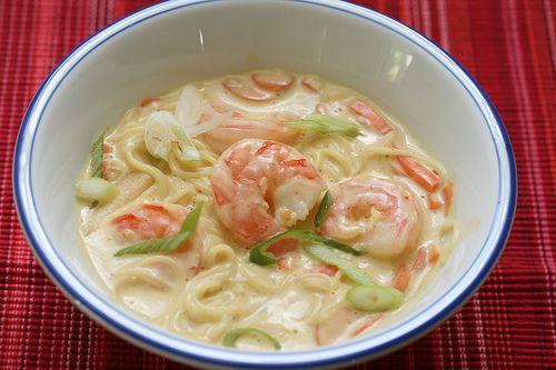 coconut shrimp soup with curry | Soups | Pinterest