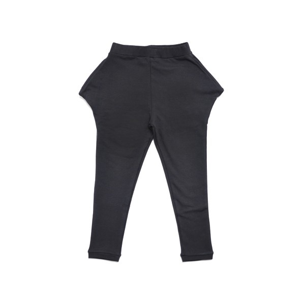Pure Black Triangle Trousers