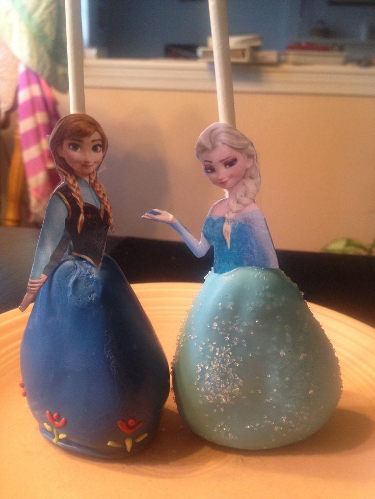 Frozen Cake Pops | Cake pops | Pinterest