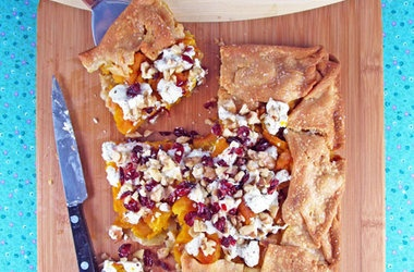 Butternut Squash and Goat Cheese Galette | Food: Savoury Temptation ...