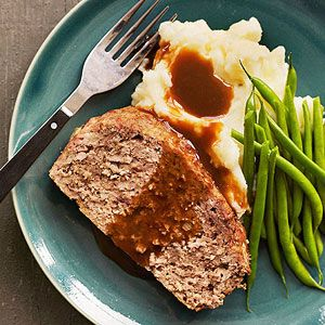 Meatloaf and Buttermilk Mashed Potatoes | FoodSweets | Pinterest